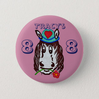 Henry Horse For Kids Button Badge
