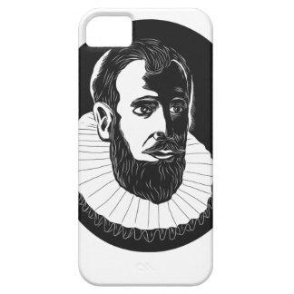 Henry Hudson Explorer Woodcut iPhone 5 Case