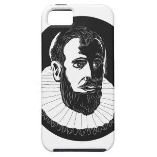 Henry Hudson Explorer Woodcut iPhone 5 Covers