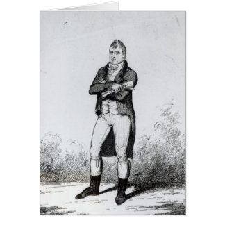 Henry Hunt Esquire  1816 Greeting Card