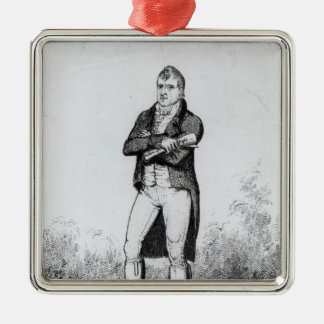 Henry Hunt Esquire  1816 Silver-Colored Square Decoration