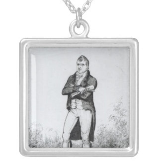 Henry Hunt Esquire  1816 Square Pendant Necklace