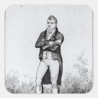 Henry Hunt Esquire  1816 Square Sticker