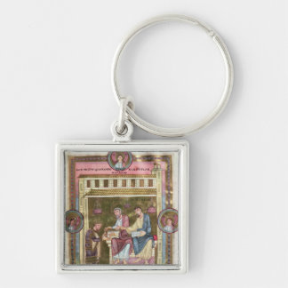 Henry III  with the Apostles Simon and Jude Key Chain