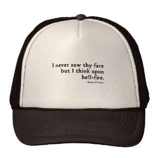 "Henry IV ""hell-fire"" Insult (16thC version) Hat"
