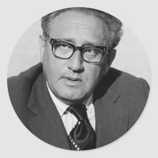 Henry_Kissinger Classic Round Sticker