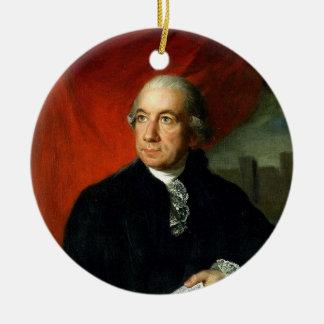 Henry LAurens Round Ceramic Decoration