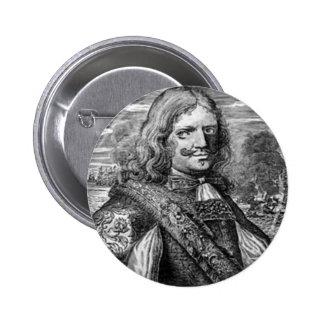 Henry Morgan Pirate Portrait Pin