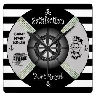 Henry Morgan ~ Privateer ~ Pirate ~ Life-ring ~ Clocks
