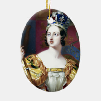 Henry Pierce Bone Queen Victoria Ceramic Ornament