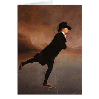 Henry Raeburn- The Skating Minister Card