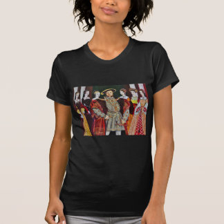 Henry The Eighth and His Six Wives T-Shirt