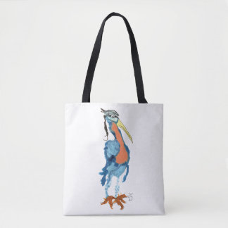 Henry the Heron Tote Bag