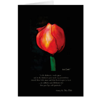 Henry the Tulip Bulb Greeting Card