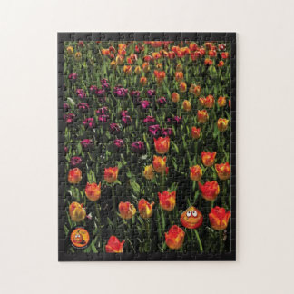 """Henry Tulip Bulb's Dare to be Different"" Puzzle"
