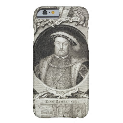 Henry VIII (1491-1547), after a painting in the Ro iPhone 6 Case