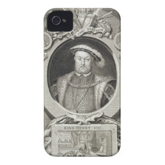 Henry VIII (1491-1547), after a painting in the Ro iPhone 4 Case-Mate Case