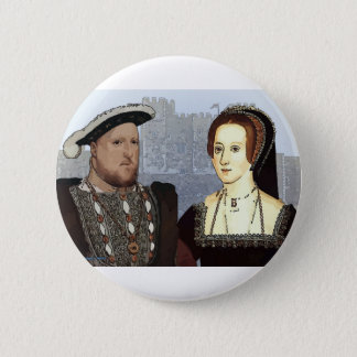 Henry VIII and Ann Boleyn 6 Cm Round Badge