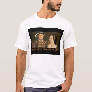 Henry VIII and Anne Boleyn T-Shirt
