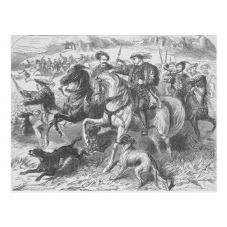 Henry VIII at the Royal Hunt in Epping Forest Postcard