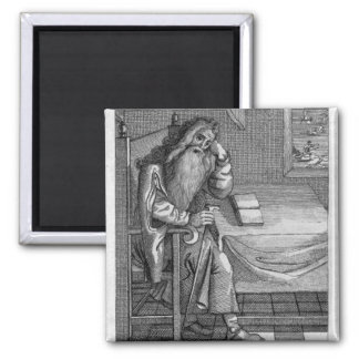 Henry Welby, 1794 Square Magnet
