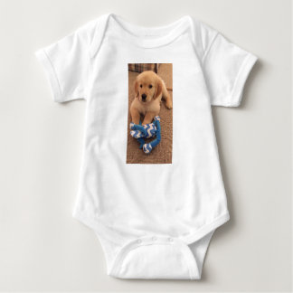 Henry's World Today Golden Retriever Baby Bodysuit