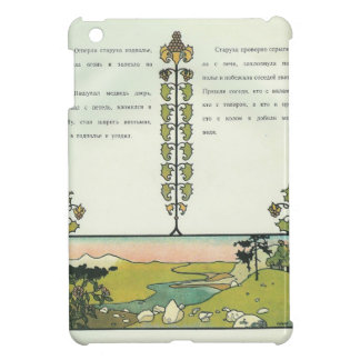 Heorhiy Narbut- The crane and heron Bear iPad Mini Case