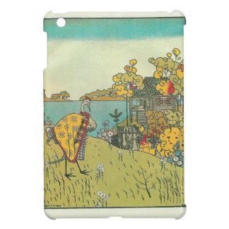 Heorhiy Narbut-  'The crane and heron. Bear.' iPad Mini Case