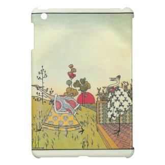 Heorhiy Narbut-  'The crane and heron. Bear.' iPad Mini Cover
