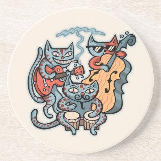 Hep Cat Band Coaster
