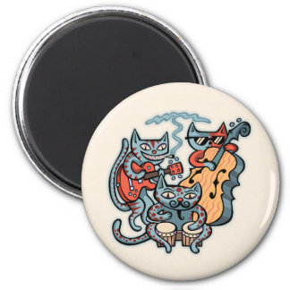 Hep Cat Band Magnet