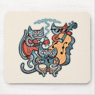 Hep Cat Band Mouse Pad