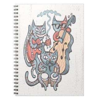 Hep Cat Band Notebook