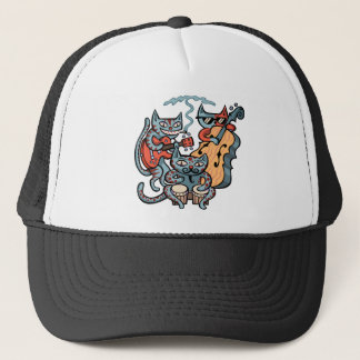 Hep Cat Band Trucker Hat