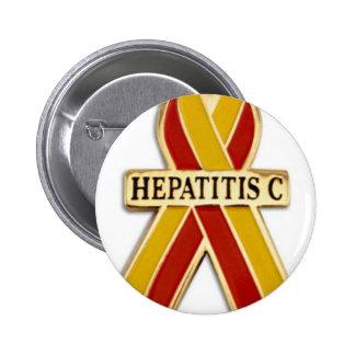 Hepatitis C Ribbon Products 6 Cm Round Badge