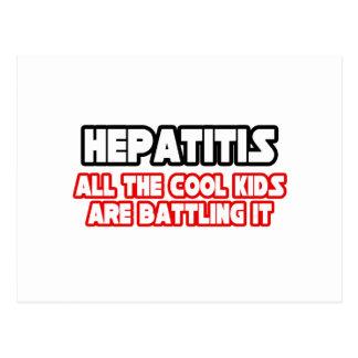 Hepatitis...Cool Kids Post Card