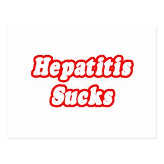 Hepatitis Sucks Post Cards