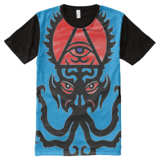 Hephzibah Occult Trump Symbol All-Over Print T-Shirt