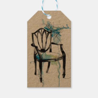 Hepplewhite Chair Gift Tags