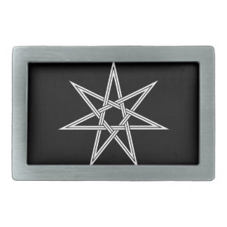 heptagon2 rectangular belt buckle