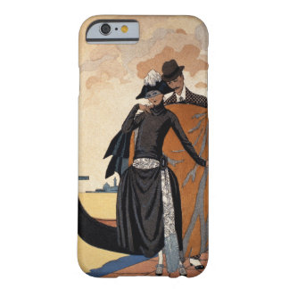 Her and Him, Fashion Illustration, 1921 (pochoir p Barely There iPhone 6 Case
