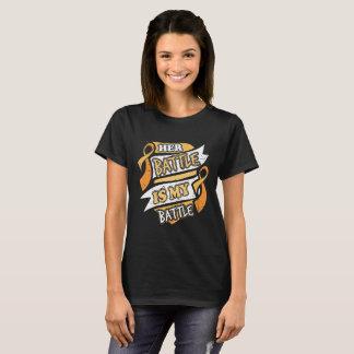 Her Battle Is My Battle Appendix Cancer T-Shirt