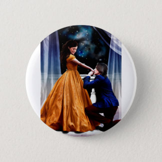 Her Beast and His Beauty 6 Cm Round Badge