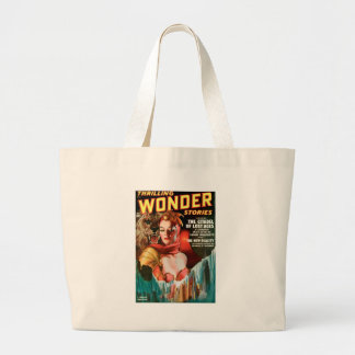 Her Boyfriend's a Monster Large Tote Bag