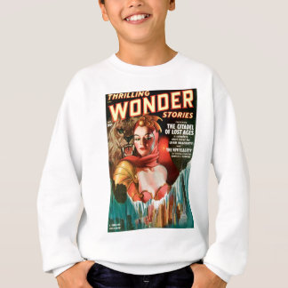 Her Boyfriend's a Monster Sweatshirt