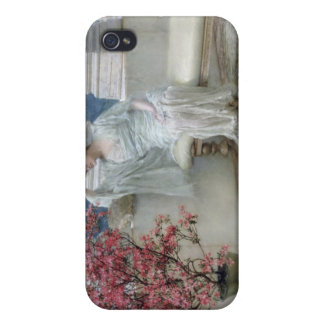 'Her eyes are with her thoughts and they are far a iPhone 4 Case