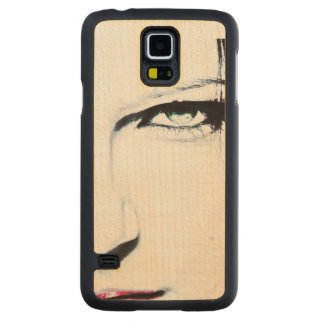Her Face Maple Galaxy S5 Case