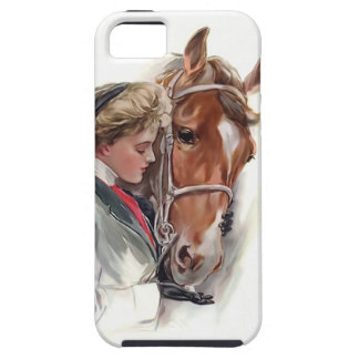 Her Favorite Horse iPhone 5 Cover