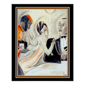 """Her Greatest Wish"" 1929 by Dodo 16 x 20 Poster"