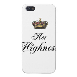 Her Highness (part of his and hers set) Case For iPhone 5/5S